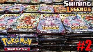 Opening 500 more Shining Legends Pokemon packs!