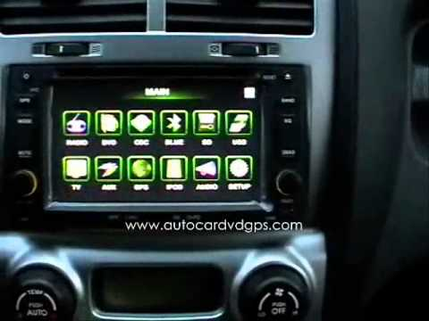 2din car gps kia sportage autoradio car dvd gps doovi. Black Bedroom Furniture Sets. Home Design Ideas