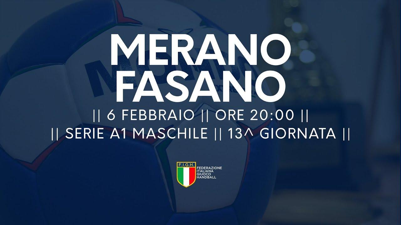 Serie A1M [13^]: Merano - Fasano 26-26
