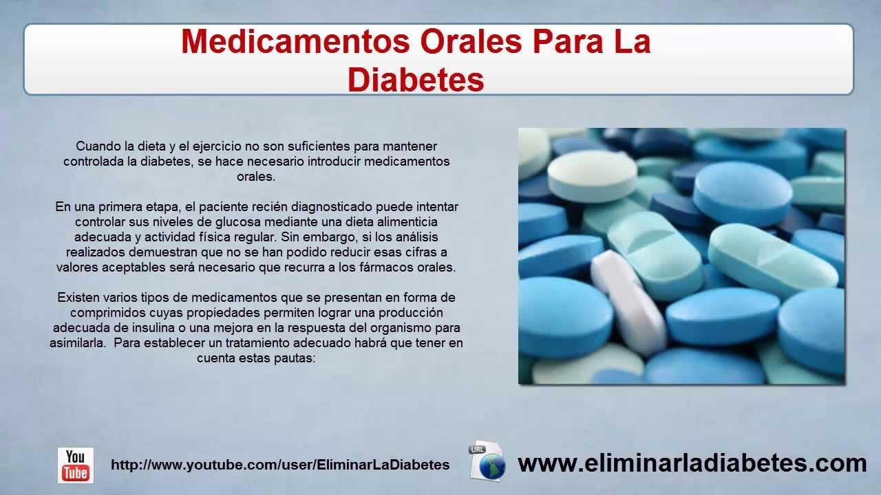 Medicamentos Orales Para La Diabetes | Tratamiento De La