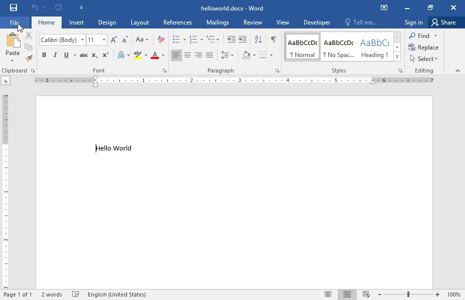save word doc as template