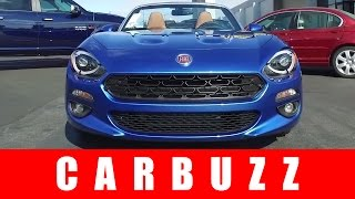 2017 Fiat 124 Spider UNBOXING Review - An Italian-Flavored Mazda MX-5 Miata?