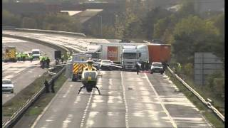 At least seven dead in 'horrific' M5 motorway smash