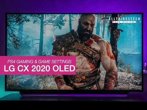 LG CX OLED PS4 Gaming &  Settings For Best Picture