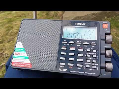 Gander Volmet, 10050 kHz, UTC 15:52 copied in Edinburgh on random wire