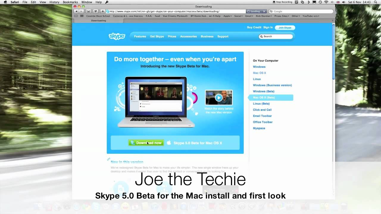Skype 5.0 Download For Mac