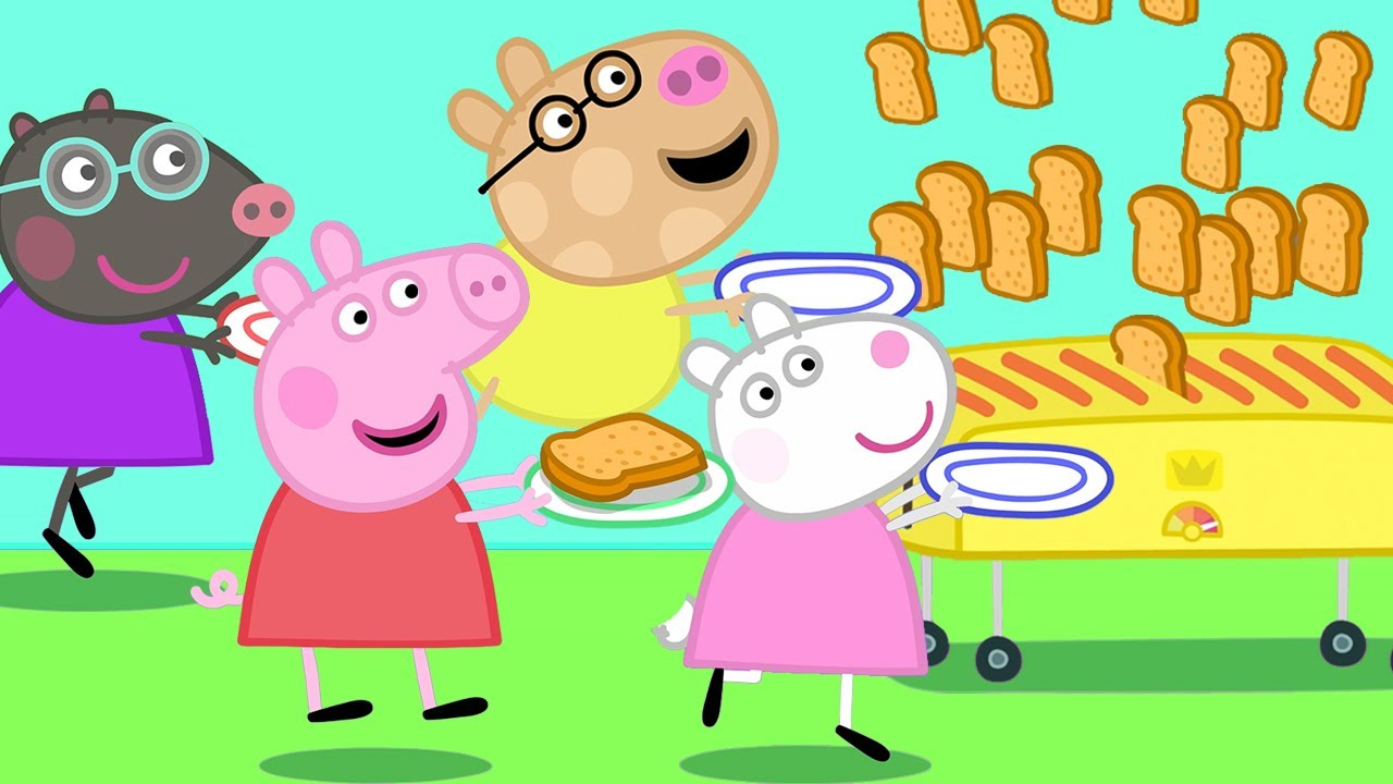 Download Peppa Pig Official Channel 🍞 Peppa Pig, Friends and the Toaster!