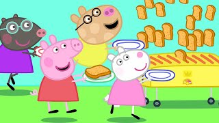 Peppa Pig Official Channel  Peppa Pig, Friends and the Toaster!