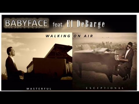 Walking On Air - El DeBarge - Clip of El in the studio, BabyFace interview.