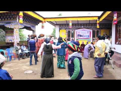 Bhutan Tamang Dance, Gyalbo Losar Celebration, 2017 dance