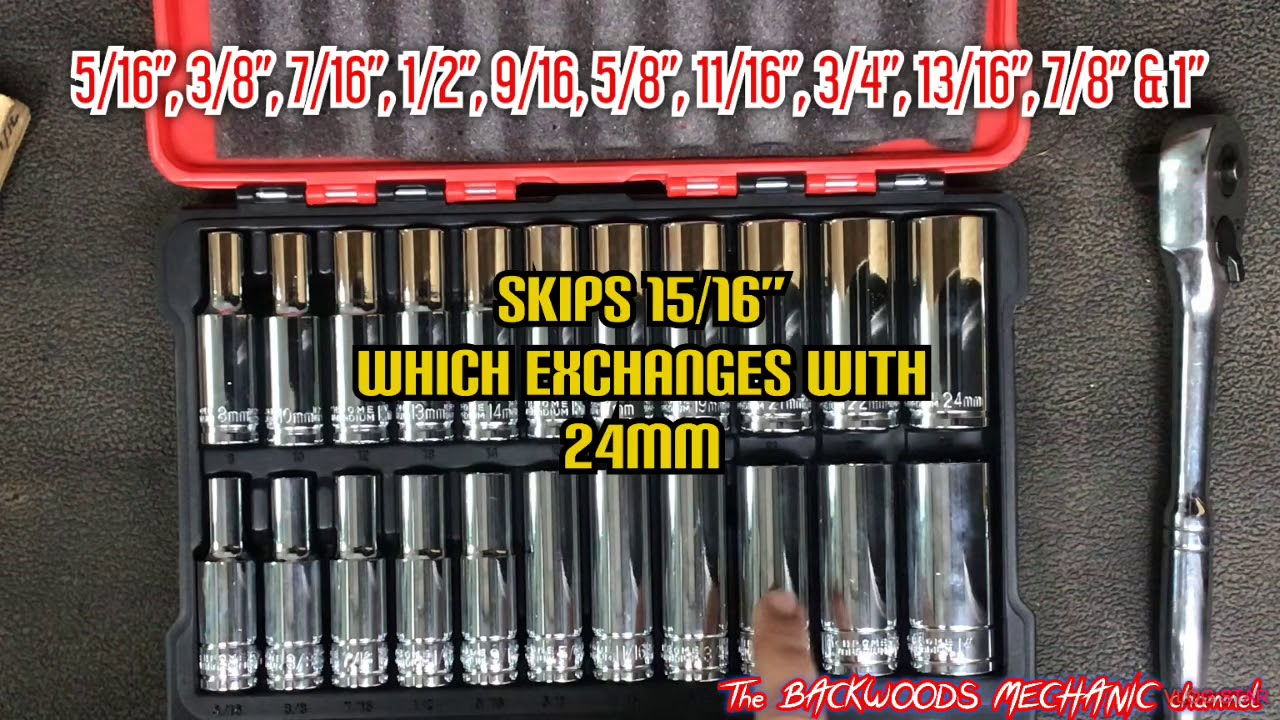 """1//2/""""Dr 6pt SINGLES Gearwrench Deep Impact Sockets SAE Sizes"""