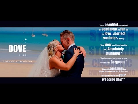 Dove Films - Natalie & James Wedding Highlights - St  Ives Harbour hotel