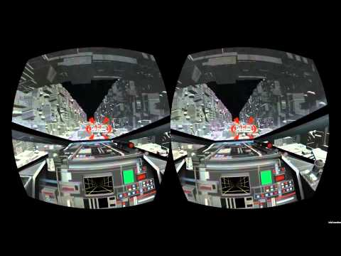 Star Wars: A New Hope trench run recreated for Oculus Rift