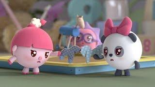 Малышарики - Голодуша   Раскраска для девочек и мальчиков