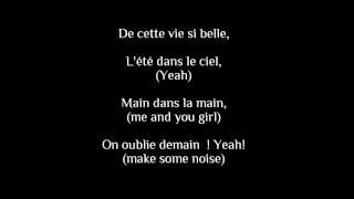 Summer paradise, Simple plan [feat. Sean Paul] - French Version, lyrics