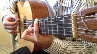 Chrono Trigger - 600 A.D. Theme - Yearnings of Wind - Classical Guitar