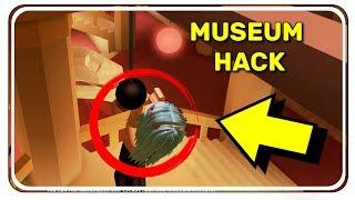 🚨 MUSEUM HACK - Roblox Jailbreak