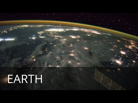 Earth - Beautiful slideshow of images of Earth from Space - taken by astronauts on the ISS