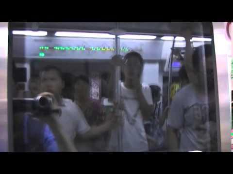 A FULL Beijing Metro Subway Ride Tour - Train Line 7 - Round Trip
