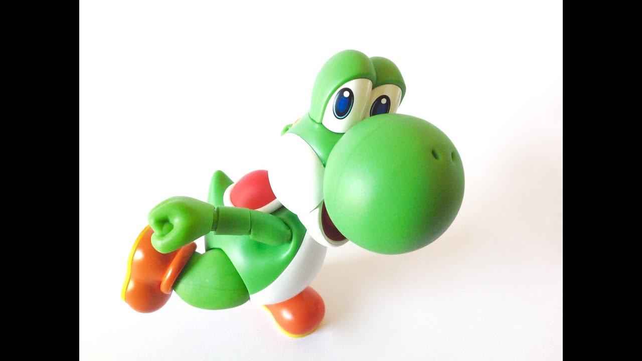 Youtube S Nations Review Yoshi Super Mario hFiguarts Bandai Tamashii EIYWD9H2
