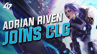 Welcome Adrian Riven to CLG
