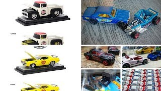 M2 Machines upcoming releases, Hot Wheels Bone Shaker Mystery Models and More News