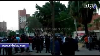 بالفيديو..قوات الجيش تغلق لجنة مدرسة عمر بن عبد العزيز بـ'طرة' بسبب شراء الأصوات