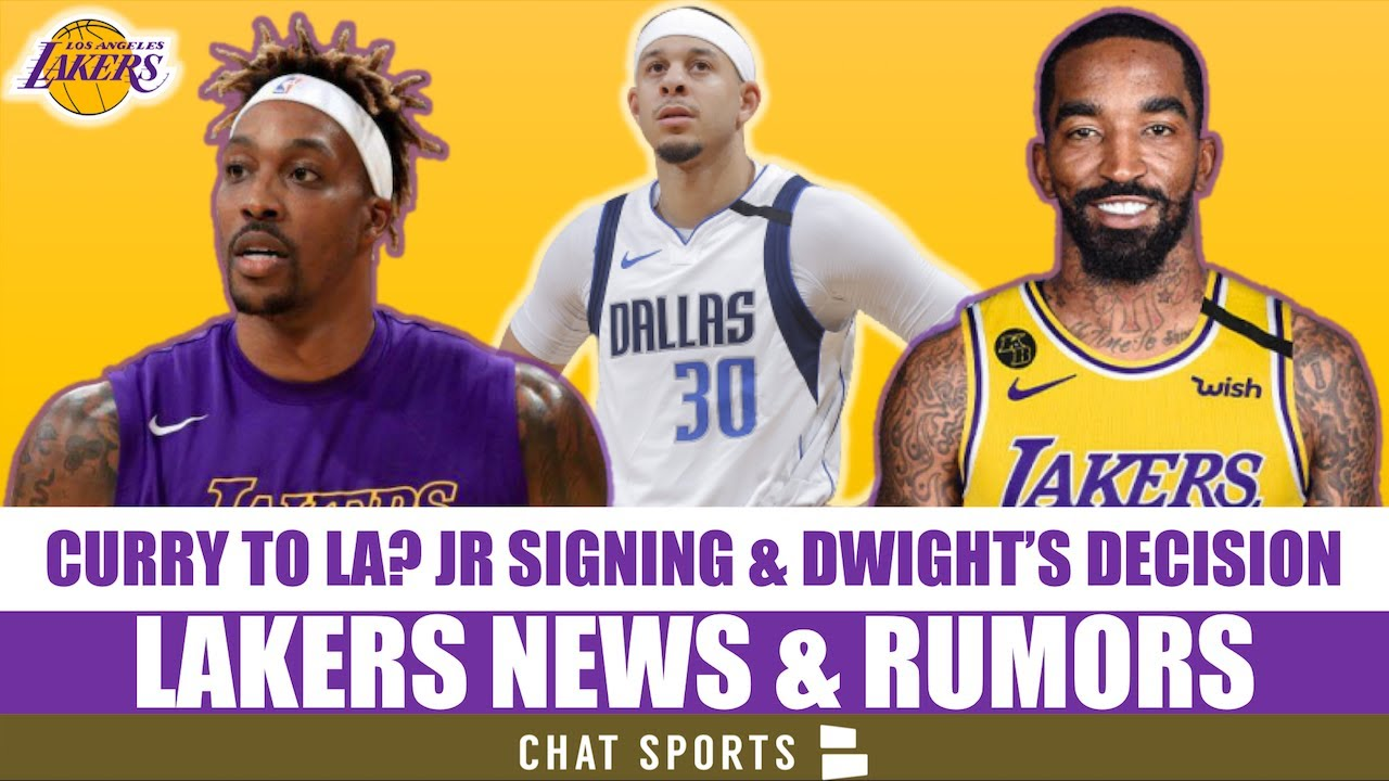 Lakers News: JR Smith Signs, Dwight Howard Latest + Lakers Trade Rumors On Javale McGee & Seth Curry