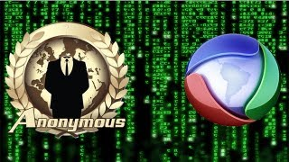 Anonymous BR - Invadindo a Rede Record