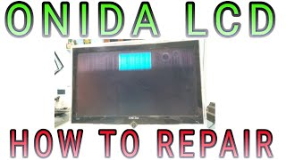 ONIDA 24 quot LCD TV PANEL PROBLEM SOLVED