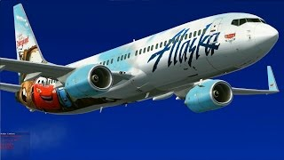 "[FSX] Alaska Airlines ""Cars Land"" to Puerto Vallarta"