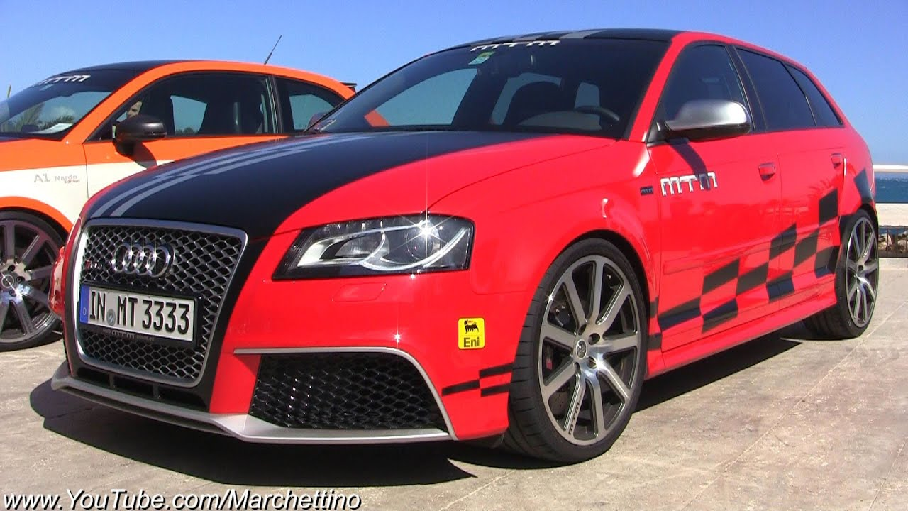 472hp Audi RS3 MTM Accelerations! - YouTube