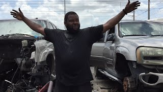Chevy Tahoe project update!!New Cadillac Escalade parts