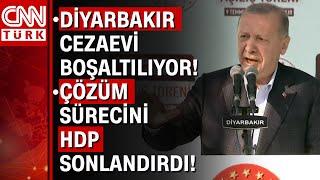 Diyarbakırda toplu açılış... Cumhurbaşkanı Erdoğan Bugün sizlere bir müjde vermek istiyorum...