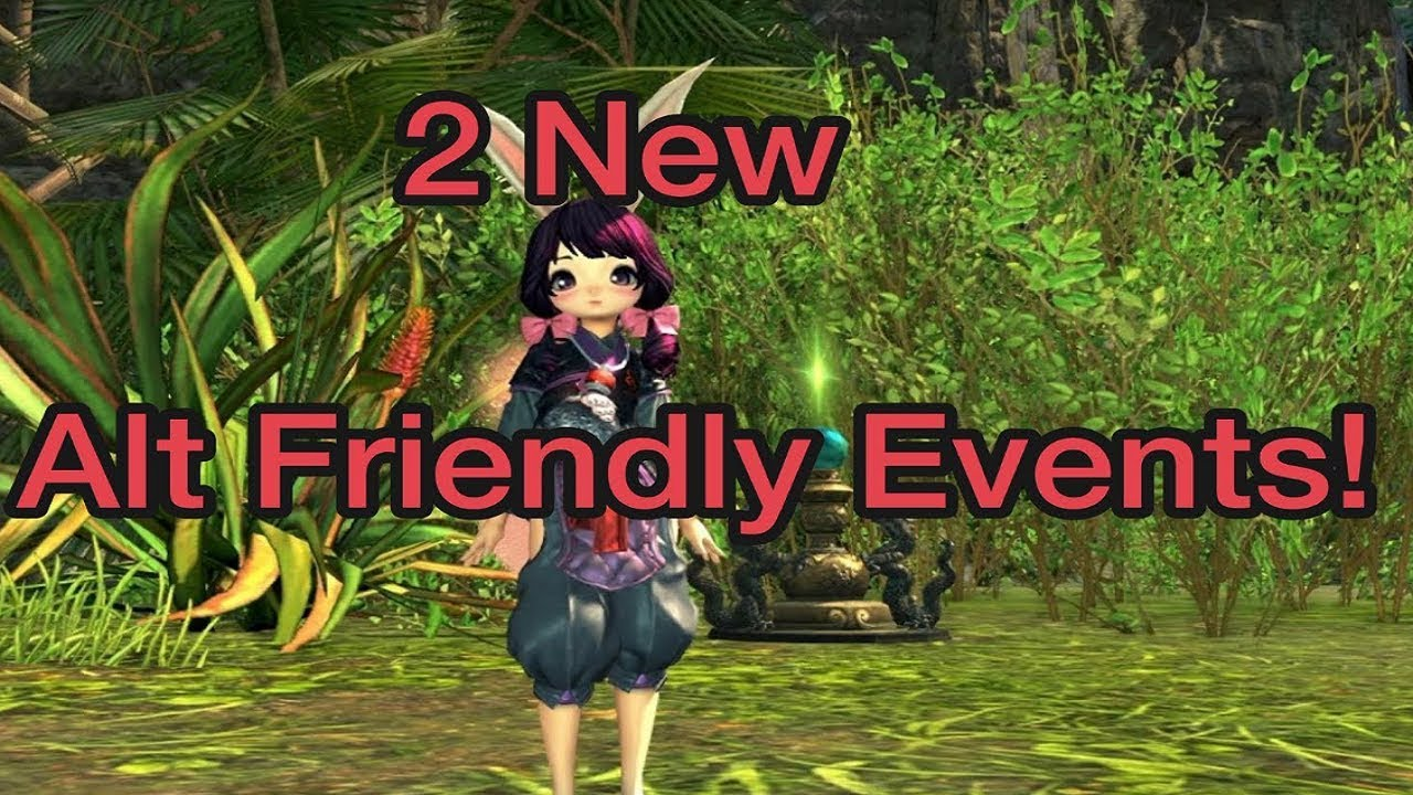Blade and Soul - 2 New Alt Friendly Events!