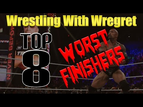 Top 8 Worst Finishers | Wrestling With Wregret