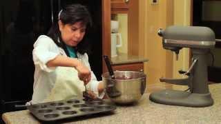 Gluten Free Coconut Flour Cocoa Banana Muffins