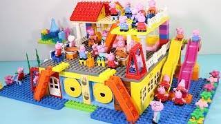 Peppa Pig Lego House Toys For Kids - Lego House With Water Slide Creations Toys #14