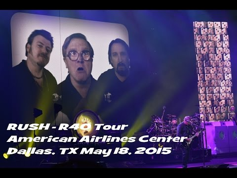 Rush - 40R Tour - American Airlines Center, Dallas, TX