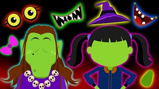 Crazy Witch - Guess The Missing Face | BRAND NEW Halloween Song