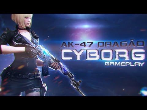 [CF] AK-47 Dragão Cyborg! (VIP)