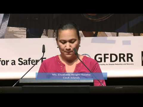 Cook Islands: Disaster Risk Reduction Statement at GP11