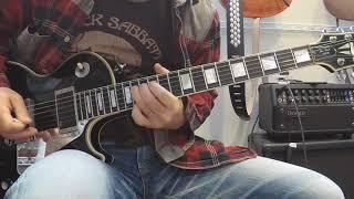Straight For The Heart/Whitesnake-John Sykes Guitar Cover ギター 弾いてみた