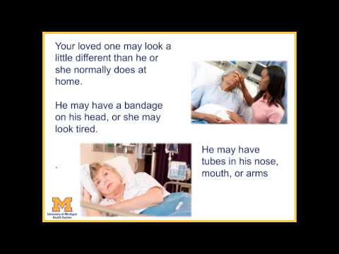 Visiting Your Loved One at the Intensive Care Unit