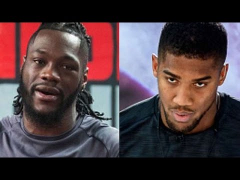 """ANTHONY JOSHUA WARNS DEONTAY WILDER """"WE CAN DEFINITELY GET IT ON ASAP""""; JABS HIS POPULARITY"""