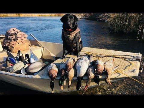 Idaho River Duck Hunt 2018