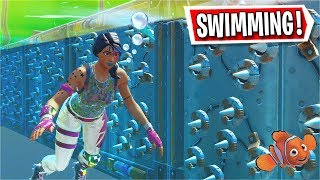 So i made a SWIMMING ONLY Deathrun... (Fortnite Creative)