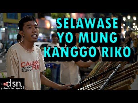Musisi Angklung Malioboro Jogja CALUNG FUNK - Selawase Yo Mung Kanggo Riko