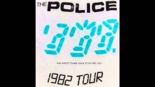 "THE POLICE - Ann Arbor, Michigan ""Chrisler Arena"" 07-04-1982 USA (audio)"