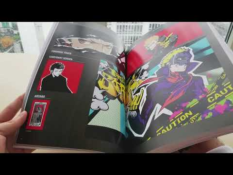 The Art of Persona 5 Unboxing and Review